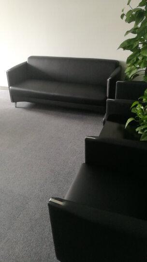 弗纳斯特(FUNASITE) 办公沙发现代简约会客沙发三人位办公室沙发茶几组合接待沙发 单人/优质西皮 晒单图
