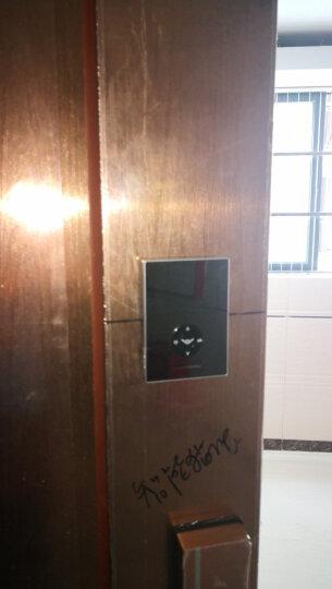 德施曼 (DESSMANN)T7HM 小嘀指纹锁 家用防盗门可视化智能家居云智能锁 电子密码锁 晒单图
