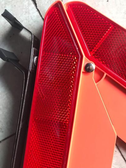 趣行 汽车反光三角警示牌 T10 国标警告牌三角牌 车用三脚架安全三角架 晒单图