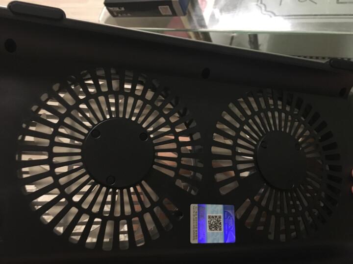 九州风神(DEEPCOOL)N8 笔记本散热器 (全铝支架/笔记垫/电脑配件/散热垫/适用于15.6英寸 ) 晒单图