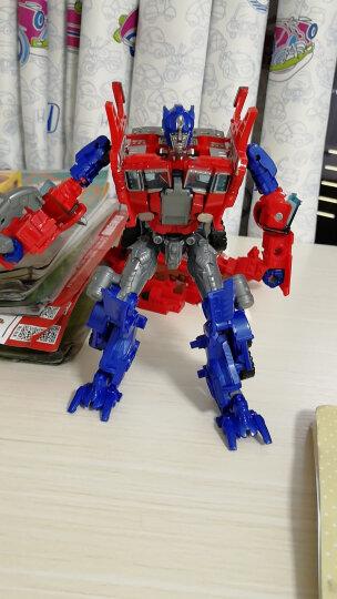 当康 儿童模型变形玩具金刚 手动变形金刚玩具汽车人 二合一吊车+翻斗车 晒单图