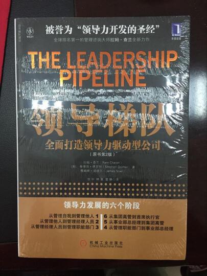领导梯队:全面打造领导力驱动型公司 晒单图