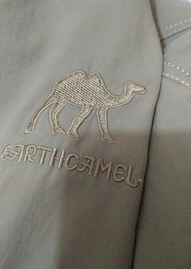神州骆驼(earth camel)户外夹克男装夹克外套男士休闲外套连帽大码秋冬2017 军绿冬季加绒款 M(128斤左右以下) 晒单图