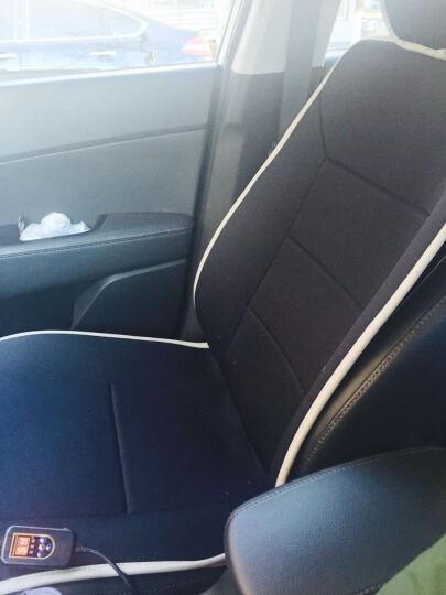 金銮殿 汽车加热坐垫 冬季车载座椅加热垫 适用于12V通用 黑色 单座加热 晒单图