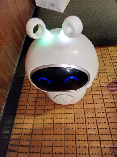 儿童智能机器人宝宝玩具男女孩早教益智早教机wifi聊天小帅机器人故事机学习机陪伴国教育学习机第五代 白色官方标配 晒单图