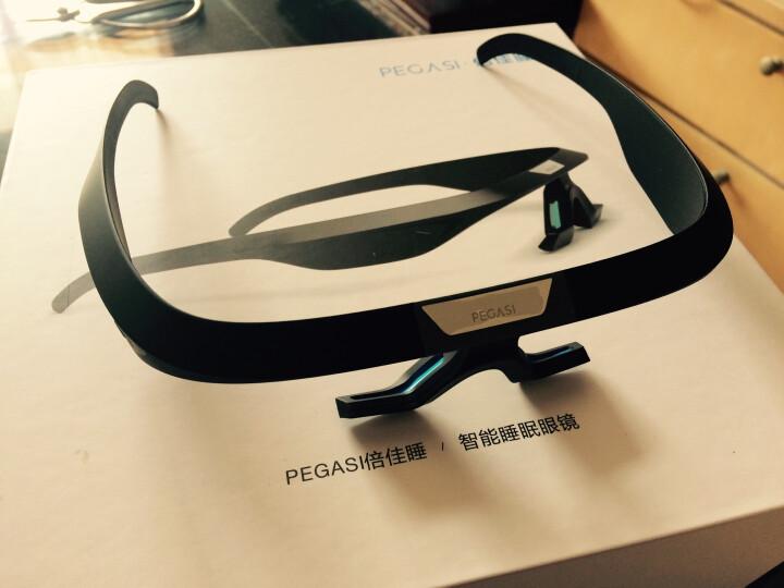 PEGASI 倍佳睡智能睡眠眼镜改善失眠帮助睡眠提高白天精神控制褪黑素分泌调节人体生物钟商旅调时差 PEGASI(亚光黑) 晒单图