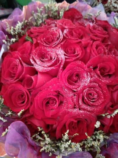 中礼鲜花速递 33枝红玫瑰花束 全国同城鲜花花店送花【指定日期送达】生日鲜花速递全国 晒单图