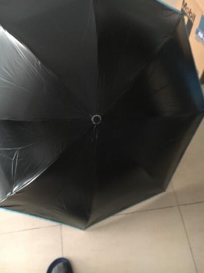 天堂伞小恶魔女防晒防紫外线雨伞三折叠学生遮阳晴雨两用太阳伞个性伞 黄色 晒单图
