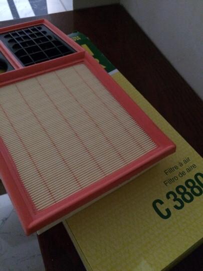 曼牌滤清器(MANNFILTER)空气滤清器C3880(宝来/速腾/高尔夫6/Cross POLO/朗逸/波罗/进口高尔夫V/VI/明锐) 晒单图