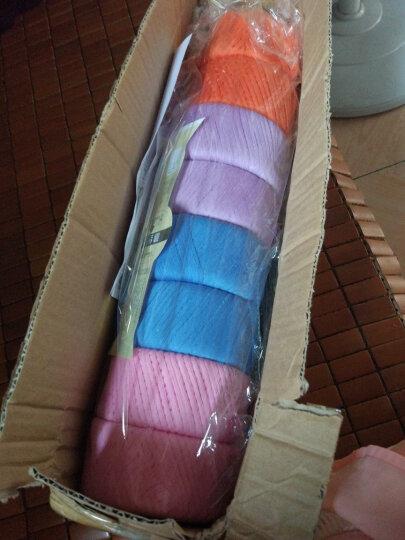 艾秀 纯棉线 棉纱线宝宝毛线 【2.5两】牛奶棉线 婴儿童毛线 全棉毛线精梳棉毛线 219浅紫 晒单图