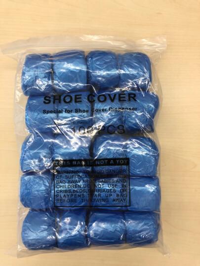 一次性鞋套机鞋套G型扣防水鞋袋加厚防雨鞋套 500只 晒单图
