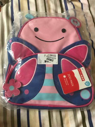 SKIP HOP可爱动物园小童背包 卡通图案双肩包 幼儿园儿童书包-蝴蝶3岁以上 美国 晒单图