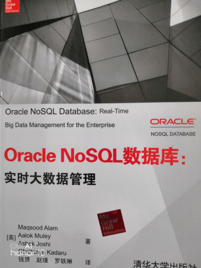 Oracle NoSQL数据库:实时大数据管理 晒单图