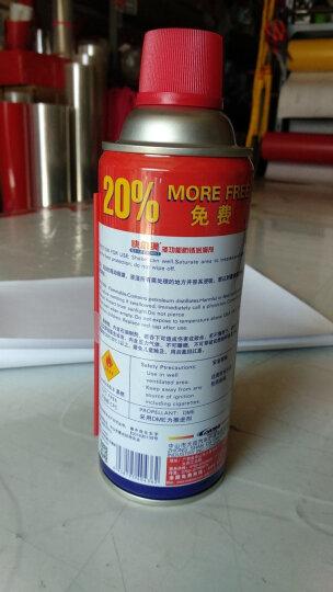 KEM多功能除锈润滑剂 螺栓松动剂 门锁自行车链条金属防锈剂450ML 1瓶装 晒单图