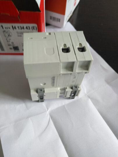 罗格朗(LEGRAND)罗格朗开关插座 空气开关带漏电保护开关 漏电保护器断路器家用总闸总开关 2P-63A 晒单图