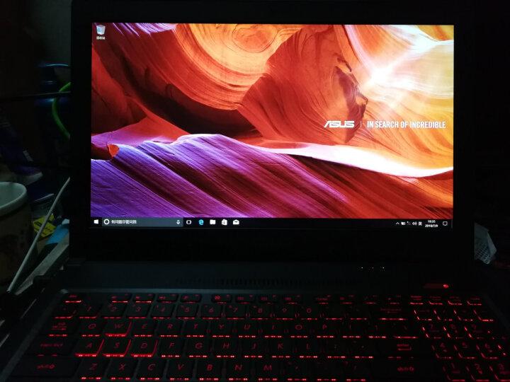 华硕(ASUS) 飞行堡垒四代FX63VD 15.6英寸游戏笔记本电脑(i7-7700HQ 8G 1T GTX1050 4G独显 IPS)黑色 晒单图