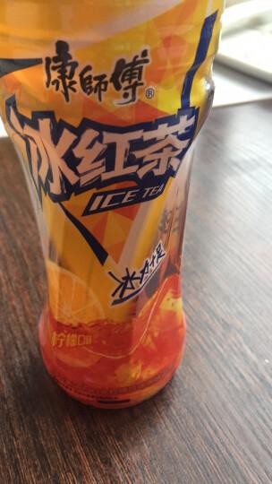 康师傅 冰红茶 柠檬红茶饮料 500ml*15瓶 整箱装(新老包装随机发货) 晒单图
