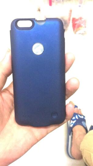 【次日达】泰火手机壳充电宝背夹电池苹果专用薄款无线移动电源iPhone6S/6plus 小屏4.7炫酷蓝(iPhone 6/6S适用) 晒单图