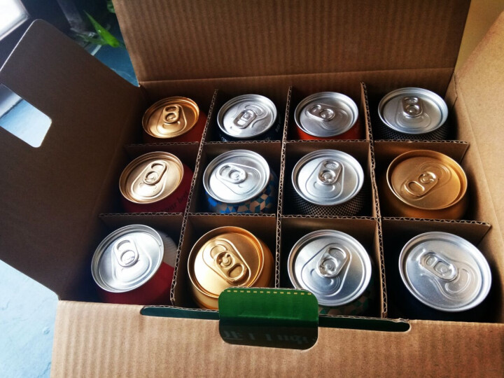 【全国速递】奇盟 泰谷 特色啤酒组合及德国原装进口白啤黑啤注意选项随机发货 啤酒12听组合 500ml/瓶 晒单图