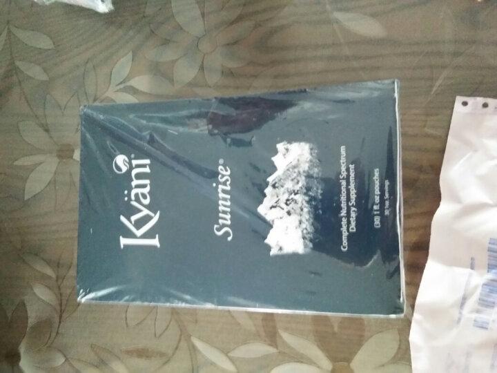 凯安尼凯娅尼 Kyani蓝莓汁新乐思 Sunrise家庭装野生887ml (美版)蓝莓汁新乐思便携盒1盒 晒单图