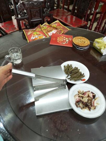 膳道 铡刀家用型中药材切片刀年糕牛轧糖牛羊肉切片机 不锈钢款 晒单图