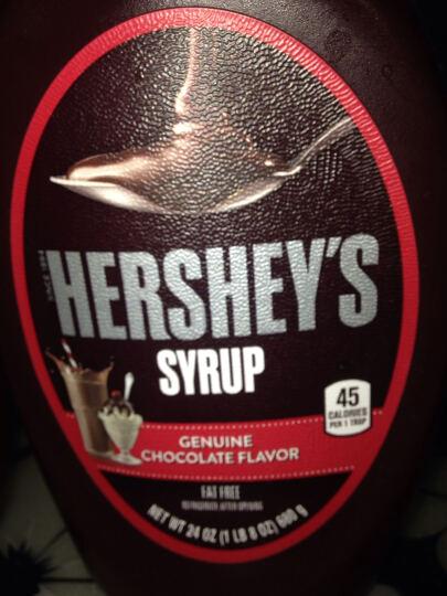 好时Hershey's美国进口 巧克力调味酱680g 蛋糕咖啡奶茶烘焙原料 晒单图