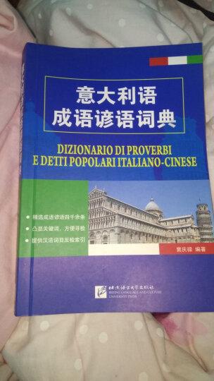意大利语成语谚语词典 晒单图