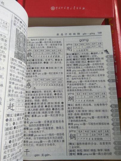 小学生词典 共3册 小学生同义词近义词反义词组词造句词典笔顺规范字典成语词典 新版1-6年级学生 晒单图