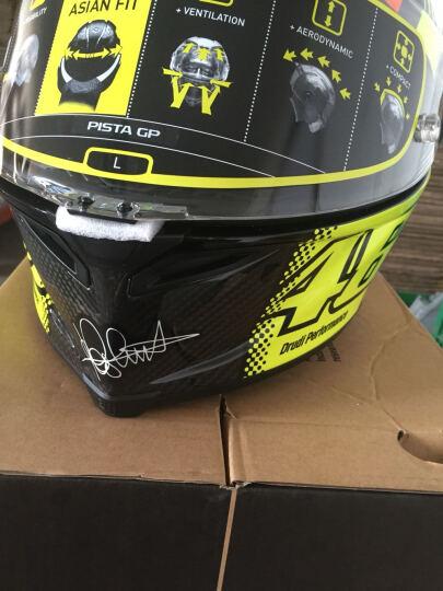 AGV头盔 PISTA/CORSA 碳纤维头盔 摩托车赛车全盔  机车骑行碳纤盔 骑士装备 PISTA罗西兄弟 M 晒单图