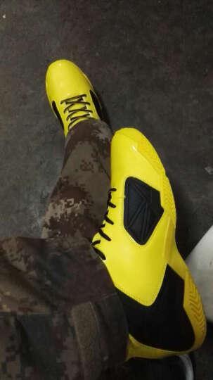乔丹篮球鞋男鞋新款运动球鞋飞人高帮防滑耐磨战靴 黑色/乔丹红 44 晒单图