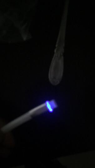 HANDI汉尼iPhone6数据线6s苹果5手机5s加长i6Plus五7P六ipad充电线器iP 1.2米黑+1.8米蓝 晒单图