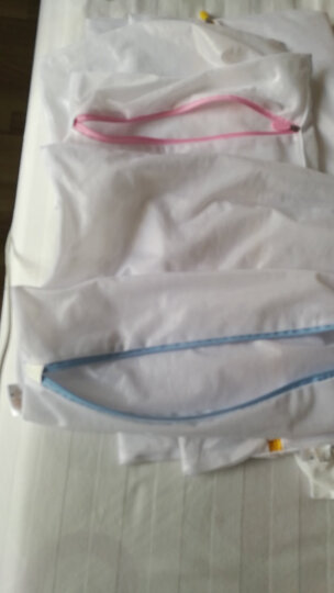 优兔 细网粗网套装洗衣袋 洗衣服内衣文胸的洗护袋 大号洗衣机专用网袋 洗衣袋护洗袋 细网4件套(方形小中大特大) 晒单图