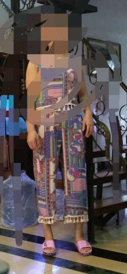 浅语姿薄款印花卫衣2019春装新款打底衫韩版圆领长袖上衣女W1003 灰色 M 晒单图