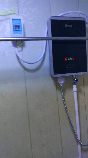创高(chuango)即热式电热水器小型家用淋浴智能变频恒温洗澡机 银色8.8KW【更大水量】 专业免费上门安装 晒单图