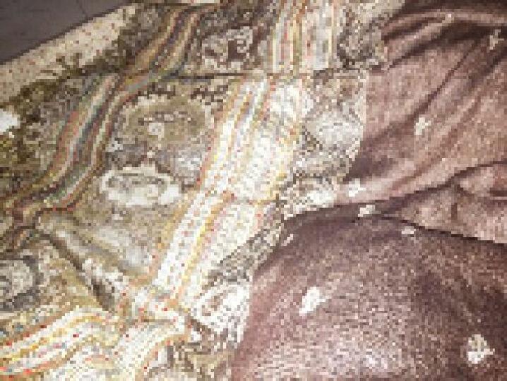 上海故事围巾女秋冬季经典英伦格子羊毛围脖男女情侣款礼盒装 179029 浅灰色 晒单图