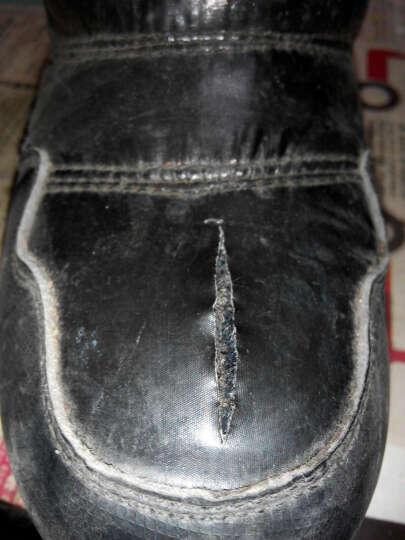 木木兔儿童鞋雪地靴棉鞋女童鞋男童中筒加绒加厚冬季保暖短靴子 2018新款防水防滑 桃红 33码 适合20.6cm脚长 晒单图