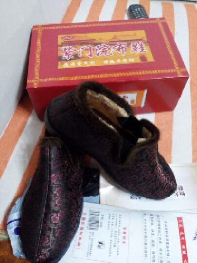 颐福元老北京布鞋冬季妈妈鞋棉鞋女中老年棉靴高帮老人鞋保暖防滑 7棕色 39 晒单图