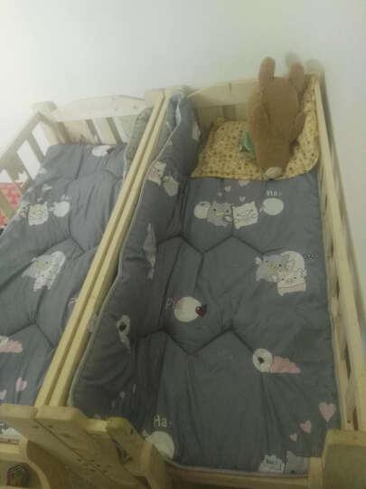 单人床垫子床褥学生上下铺宿舍0.9米儿童床垫秋冬厚榻榻米垫子1.2m1.5m床单双人床 字母 90*195cm学生上下铺床 晒单图