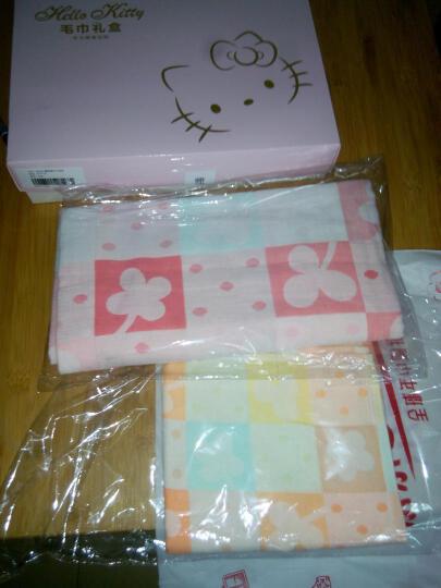 锦和家 胖胖毛巾2条装红色JH07-77F 晒单图