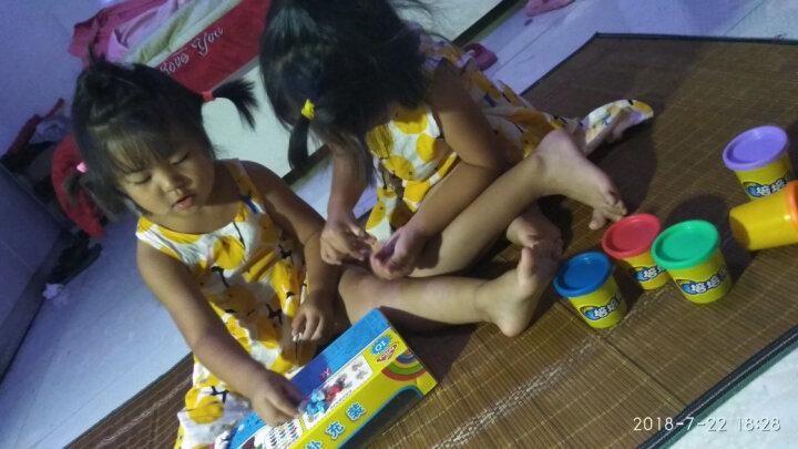 培培乐(PEIPEILE)超轻粘土彩泥橡皮泥 手工DIY彩泥模具套装黏土玩具儿童节礼物太空泥 10色套装 晒单图
