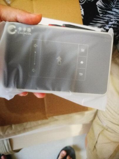 卡卡洛 手机投影仪家用迷你办公投影机1080p高清无线3D无屏电视wifi微型便携式投影 白色-T11-8G-2000流明度 晒单图