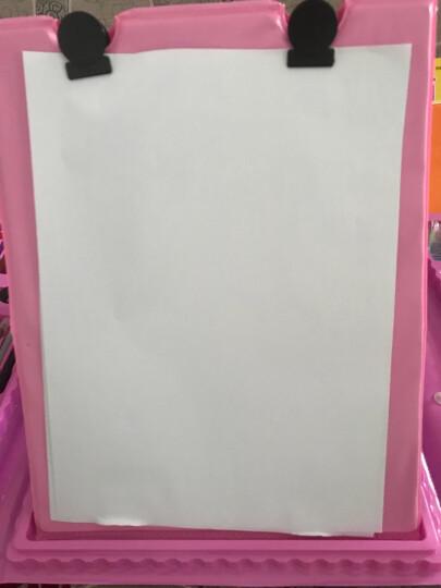 (送涂鸦本剪刀折纸)儿童画笔套装蜡笔水彩笔绘画文具画画笔套装带画板美术小学生礼物 208件【粉色】画板 晒单图