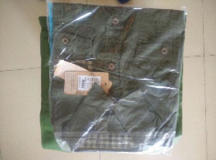 战地服饰 男装户外特种兵军迷服装战术军装军迷用休闲短袖衬衫男夏工装 军绿色 XL 晒单图