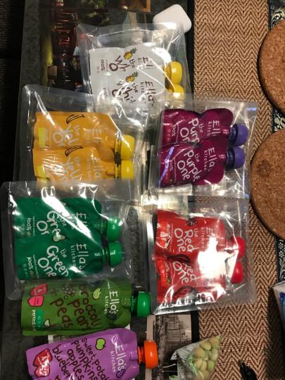 艾拉厨房(Ella's kitchen) 蜜桃果泥 70g*2袋 (新老包装随机发货) 晒单图