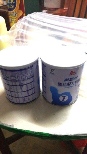 明一(wissun)【官方旗舰店】美悠然婴幼儿配方奶粉1段0-6个月 试用装奶粉小罐装100g 晒单图