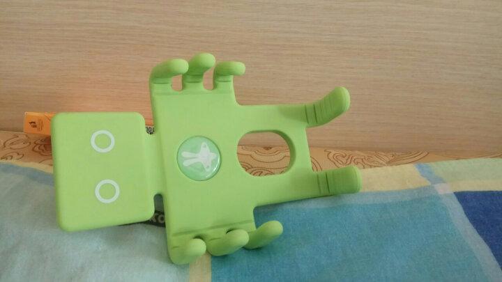 轩之梦汽车车载手机支架GPS导航仪架手机架夹汽车用品 绿色大号 晒单图