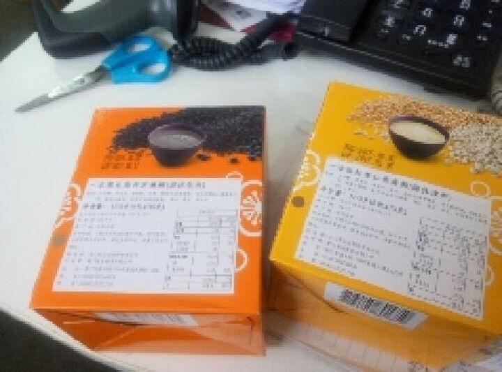 三点一刻  经典原味港式伯爵奶茶咖啡冲饮黑糖姜母茶多款可  台湾进口冲调休闲饮品盒装 黑米芝麻糊150g 晒单图