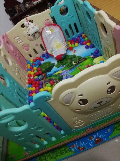 澳乐(AOLE-HW)儿童婴儿游戏围栏爬行垫围挡安全护栏宝宝学步围栏栅栏海洋球池室内玩具 跑跑熊12片+门栏+玩具栏【京东闪电发货】 晒单图
