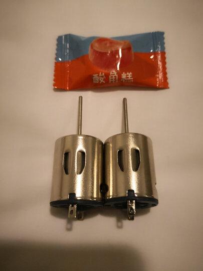 千水星 长轴圆形R280电机微型直流马达 diy6V小马达 大扭力科技制作长轴 1个 晒单图