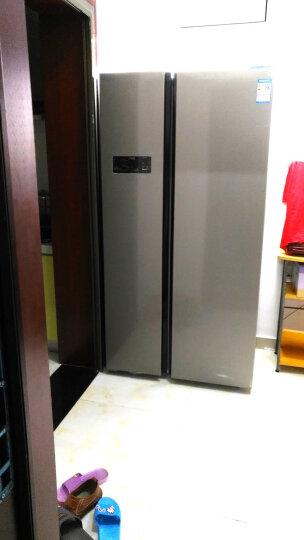 美菱(MELING)518升风冷无霜双开门 电脑控温 节能保鲜 636mm纤薄 雅典娜对开门冰箱BCD-518WEC 晒单图